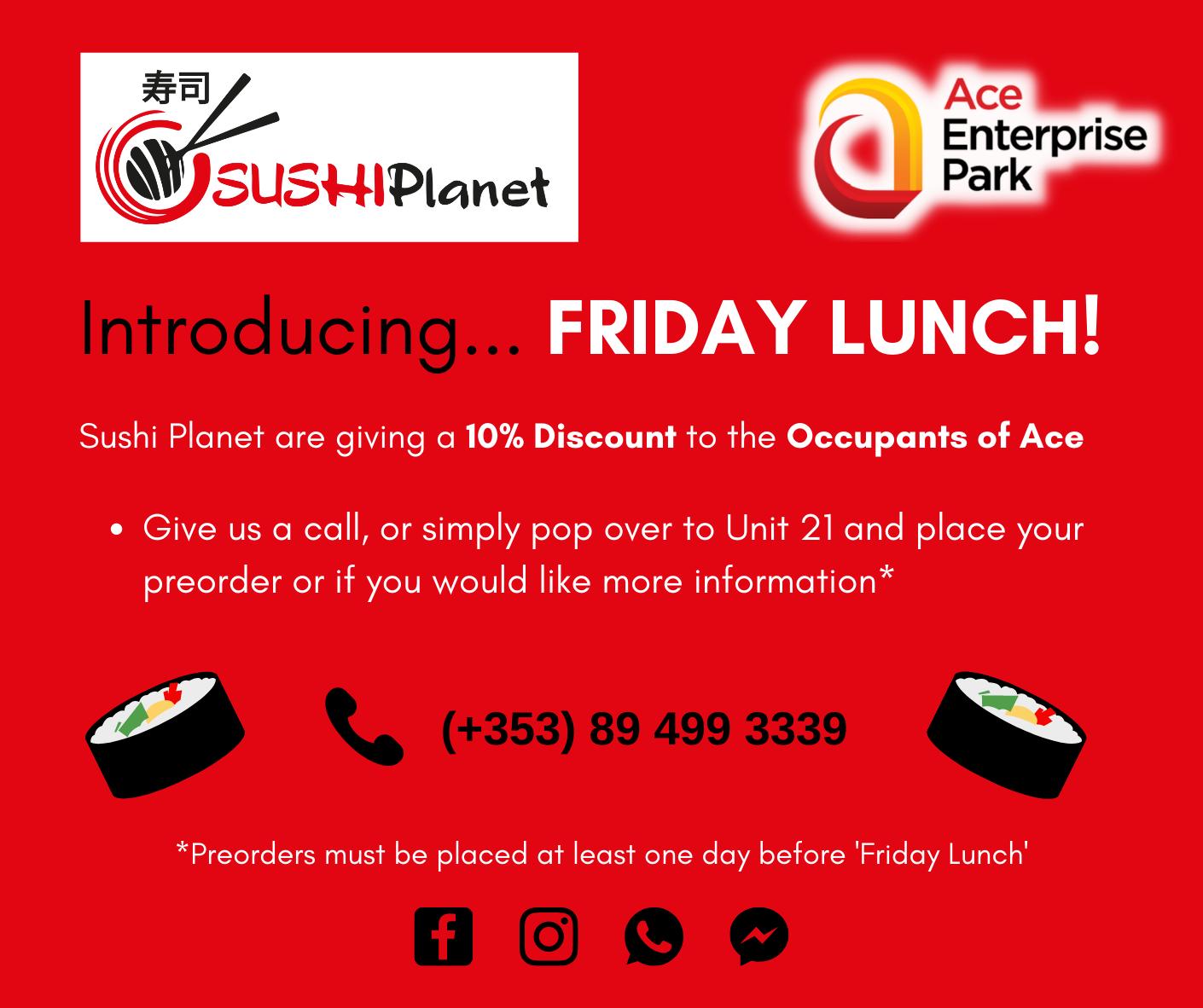 Sushi Friday
